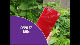 Oppo F7 FAQs - Sensors, Fast Charging, Notification LED, Software, Camera and More