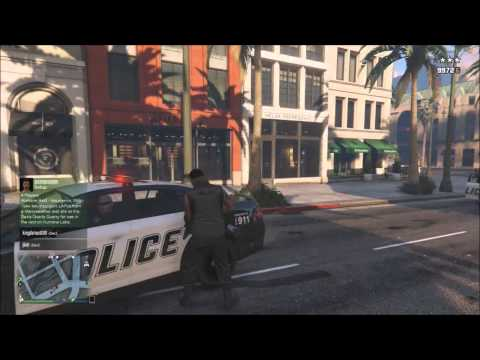Grand Theft Auto 5 Online PS4 #66 Free Roam Fun, Taking Down Insurgents, Running Away On A Bounty