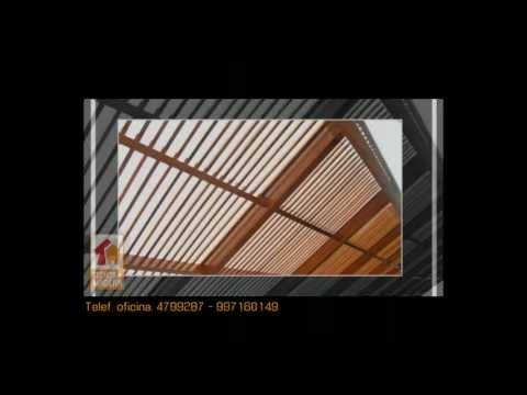 Techos de madera - Fotos de patios de casas ...