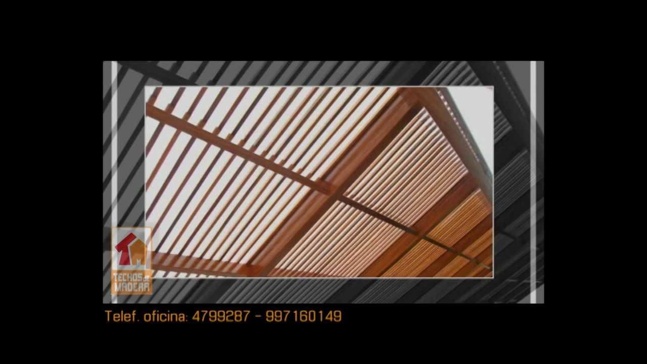 Fotos de techos corredizos de policarbonato en lima car - Pergolas de madera fotos ...
