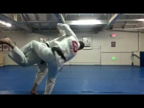 Gracie Barra BJJ Techniques: Advanced Inner Thigh Throw - Take Down By Prof Marcio Feitosa Image 1