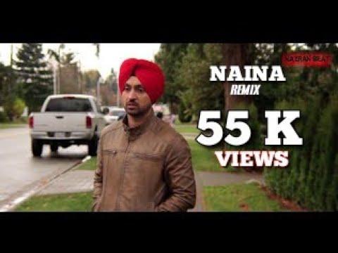 Naina ||  Jatt & Juliet 2 || Nazran Beats Mix || Ft RAV SAINI