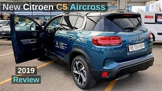 New Citroen C5 Aircross 2019 Review Interior Exterior