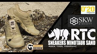 [FR ] AIRSOFT GEAR / SNEAKERS MINOTAUR SAND / RTC / SKYWAY /0.20 MAG # AIRSOFT REVIEW