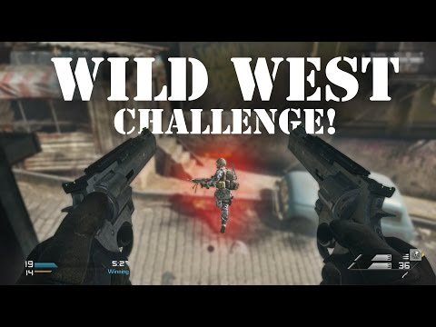 COD Ghosts - WILD WEST CHALLENGE! (Call of Duty: Ghosts)