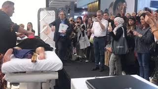 Cosmoprof Bologna incredibile successo con accademia del massaggio di www.antoniocerrone.com