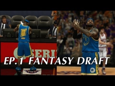 NBA 2K13 Association Ep.1 - Fantasy Draft
