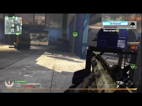 MW2 Herrschaft - Scrapyard mit Scar-H 69-9 (Modern Warfare 2 Domination Gameplay)