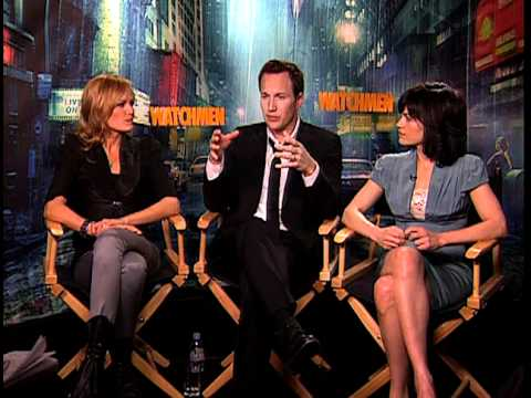 Watchmen - Exclusive: Malin Akerman, Patrick Wilson and Carla Gugino Interview