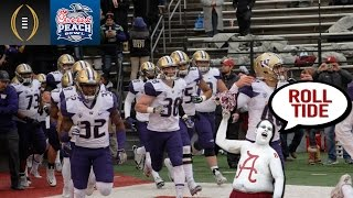 Washington Players On Alabama Fans | Peach Bowl Media Day