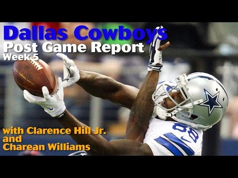 Clarence Hill Jr. and Charean Williams discuss the Cowboys big win vs. the Texans in week 5 of the 2014 season. (by Jared L. Christopher - Fort Worth Star-Te...