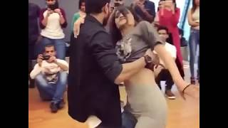 Amazing Couple Performing a Hot Dance
