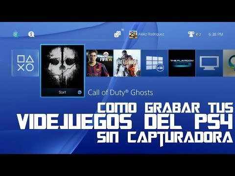 Como Grabar Tus Gameplays Del PS4 Sin Capturadora