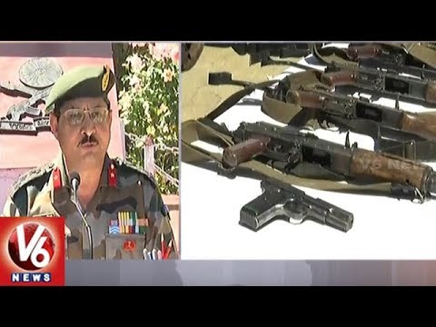 Indian Army Recovered AK 47 And Other Explosive Material After Rafiabad Encounter | V6 News