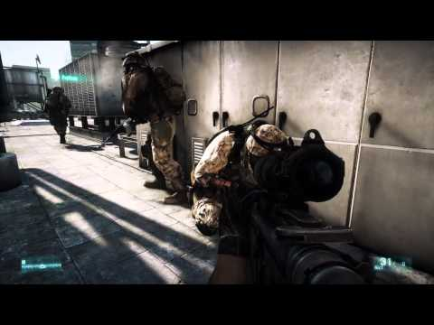 Battlefield 3 Fault Line 12 minutes gameplay