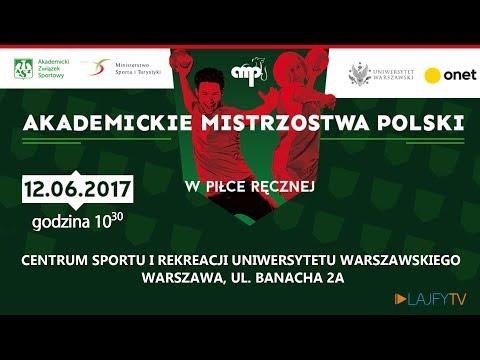 Akademickie Mistrzostwa Polski W Piłce Ręcznej 2017