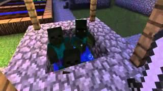 Minecraft: выживание в плоском мире . Часть 1
