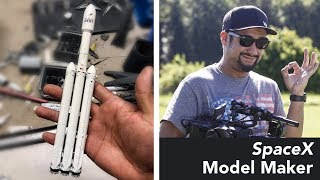 Meet the German SpaceX Model Maker that SpaceX Fans Love
