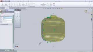 4-SolidWorks Surface Tutorial:Revolved Surface