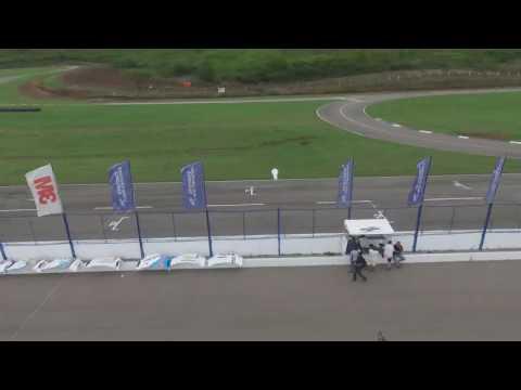 Así lució el autódromo salteño en el primer día de pruebas del Top Race
