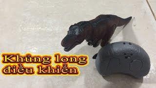 Đồ chởi trẻ em Kingpes - Khủng long điề khiển