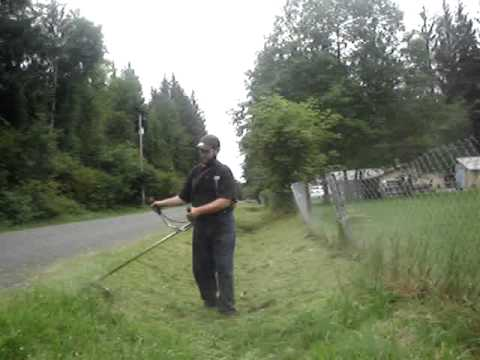 1995 - 1998 STIHL FS 85 IN ACTION #4