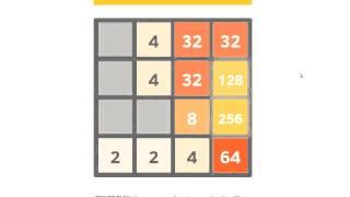 Тактика прохождения игры 2048