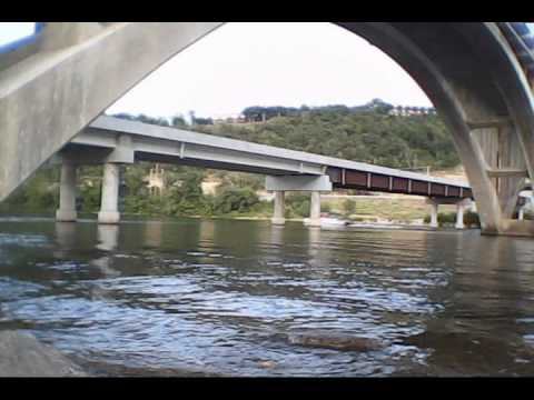 Fishing in Branson at the Taneycomo Bridge