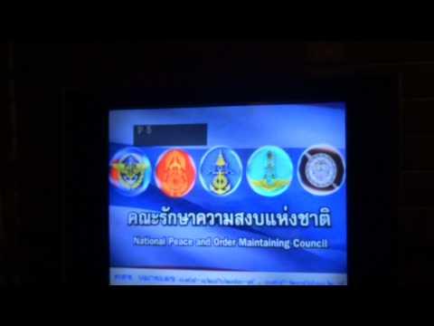 TV Tajlandia Zamach Stanu