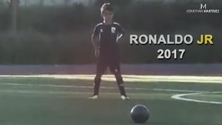 Cristiano Ronaldo Jr ● Playing Football 2017