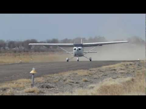 Cessna 172 180HP short field take-off @ 6U7