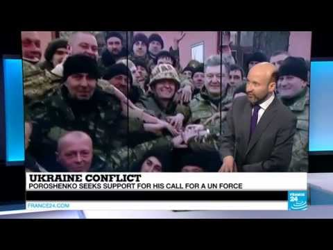 UKRAINE - Fighting in full force despite ceasefire