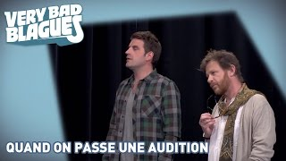 Quand on passe une audition - Palmashow