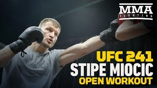 UFC 241: Stipe Miocic Open Workout Highlights - MMA Fighting