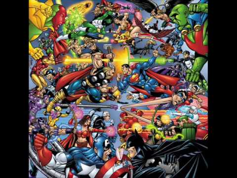 Marvel vs. DC comics Video