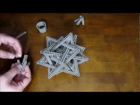 Tutorial: Compound of Five Tetrahedra (Zen Magnets) Music Videos