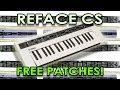 Yamaha Reface CS - 10 FREE custom patches!