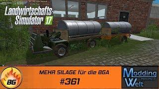 LS17 - Hof Bergmann Reloaded #361 | MEHR SILAGE für die BGA | Let's Play [HD]