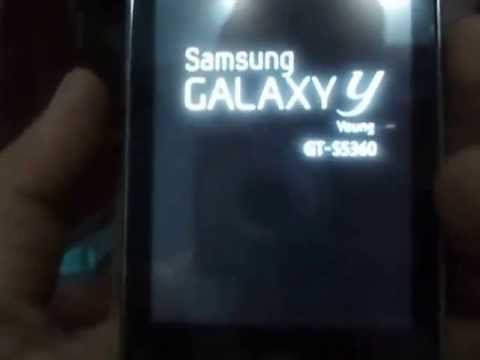 Install Cyanogenmod 7 on Galaxy Y GT-S5360