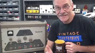 How to Install PTT Push to Talk Heathkit DX-100 Ham Transmitter