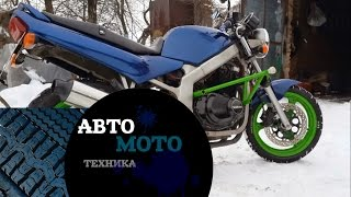 Как сделать клетку Suzuki GS 500 / How to make a cage Suzuki GS 500