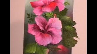 "The Beauty of Oil Painting, Behind the Scenes, Episode 2 "" Hibiscus """