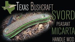 Texas Bushcraft: My First Micarta DIY (Svord)