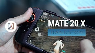 Huawei Mate 20 X Unboxing and Hands-On