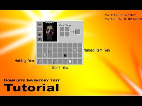 minecraft slots id