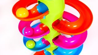 Spin and Slide Toy Playset for Children | Learn Colors with Yippee Toys