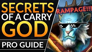 HOW PROS can CARRY ANY GAME: Safelane Tips & Tricks to FARM FAST and DESTROY | Dota 2 Pro Guide