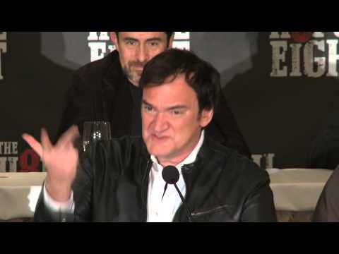 The Hateful Eight: Full Press Conference (Possible SPOILERS)- Quentin Tarantino, Samuel L. Jackson
