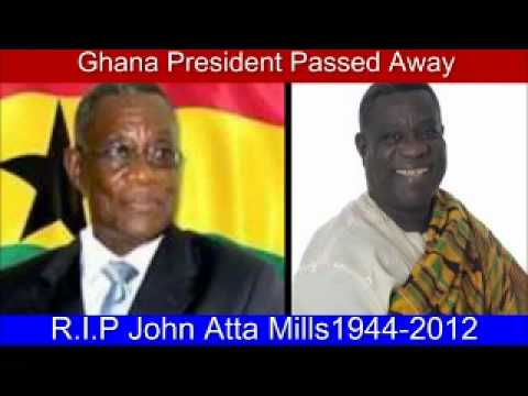 Ghana's President Atta Mills has died at age 68, Barack Obama Cries