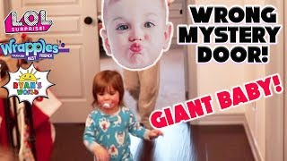 Don't Choose the WRONG MYSTERY DOOR! L.O.L Surprise Valentines, Wrapples or Giant Baby?